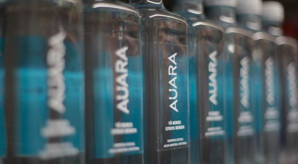 auara packaging sostenible agua